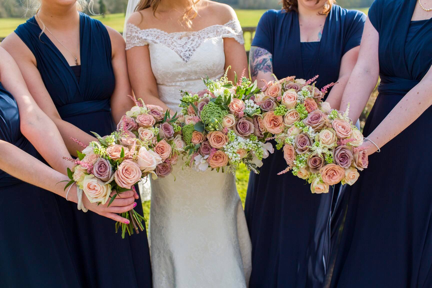 Chloe and Lewis beautiful wedding Orchardleigh House Flowers of Bath