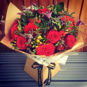 Bouquet 1 - August blog