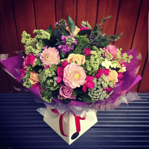 Mother's Day 4 Hand Tied Bouquet