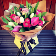 Mother's Day 5 Hand Tied Bouquet