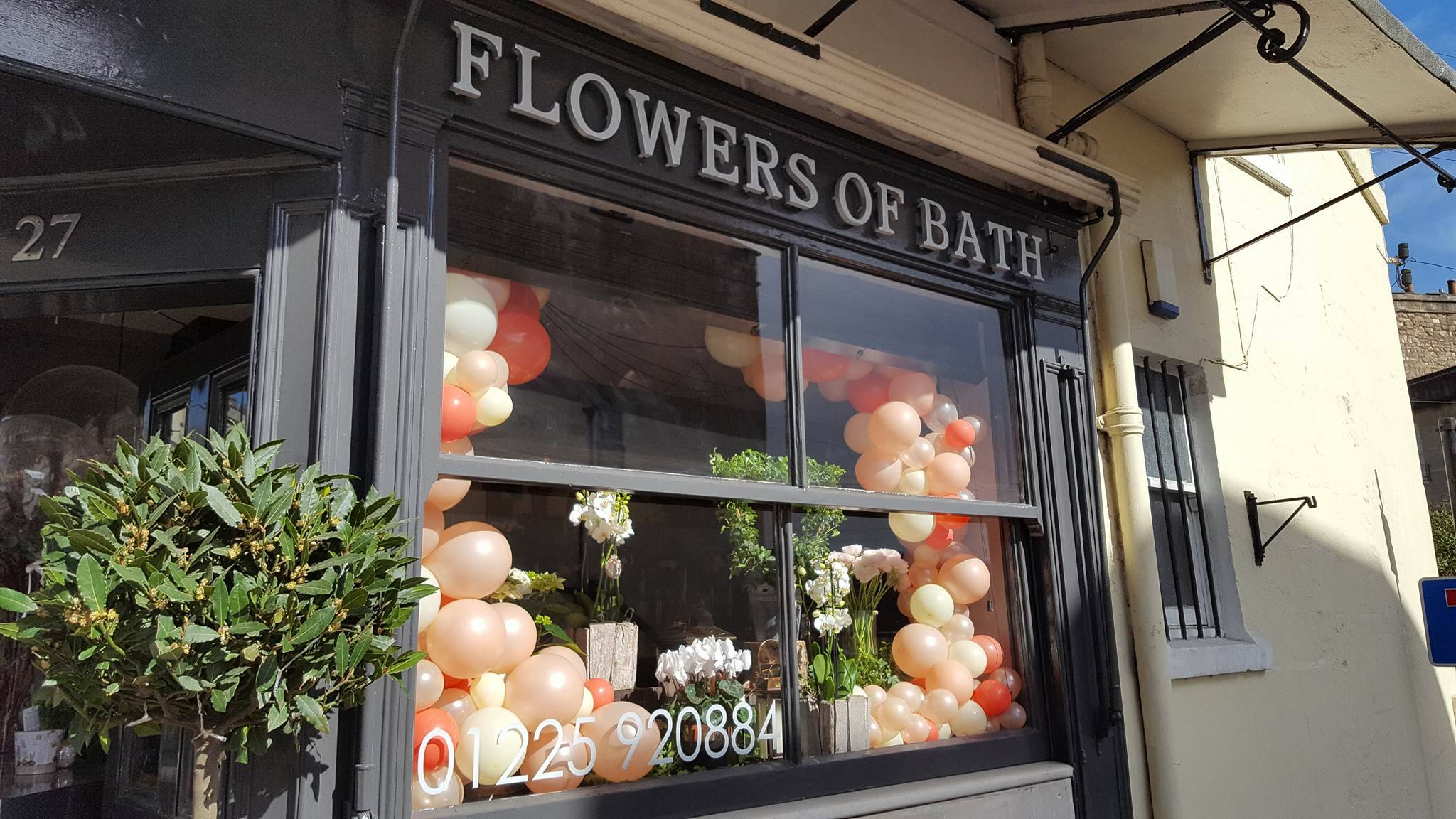 flowers of bath