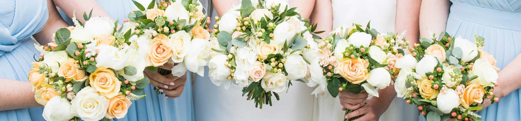 wedding bouquet's bath
