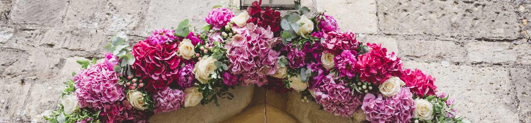 floristry for weddings