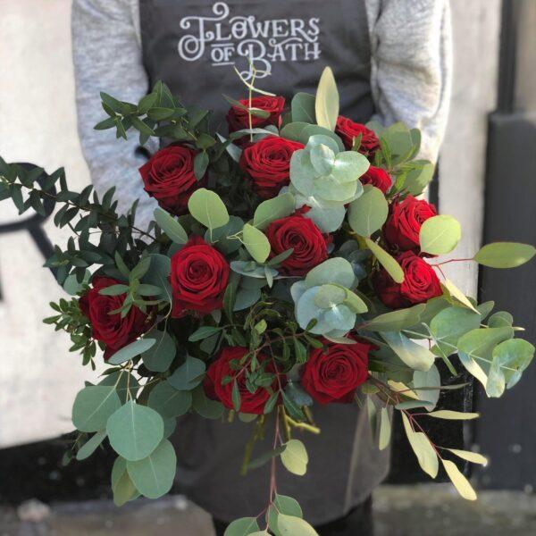 Classic 12 Red Rose