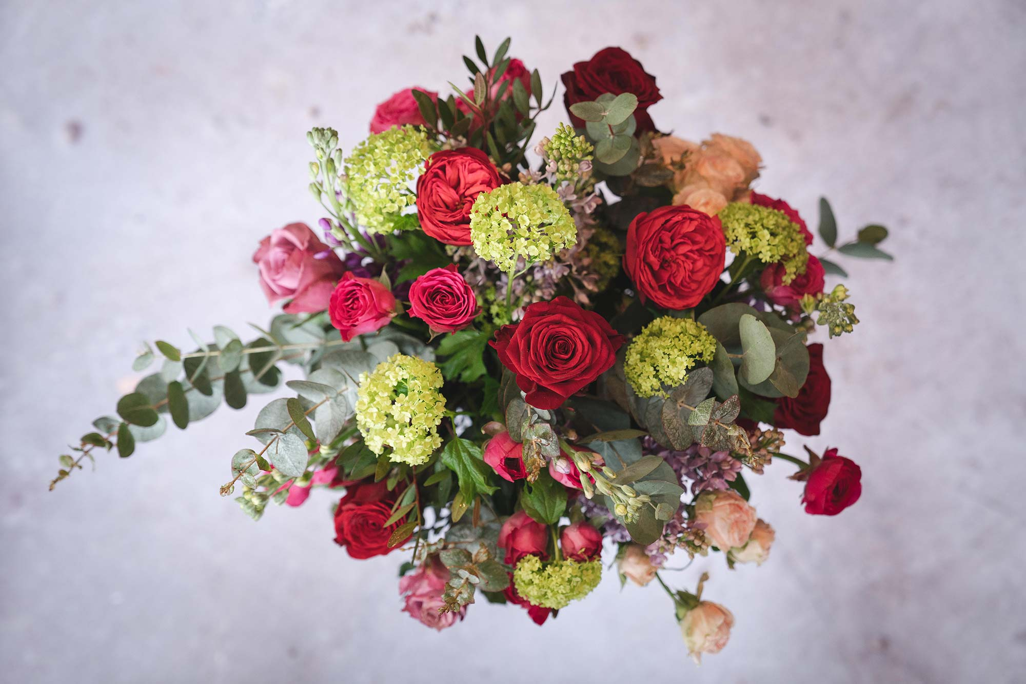 Vibrant Romance flower bouquet