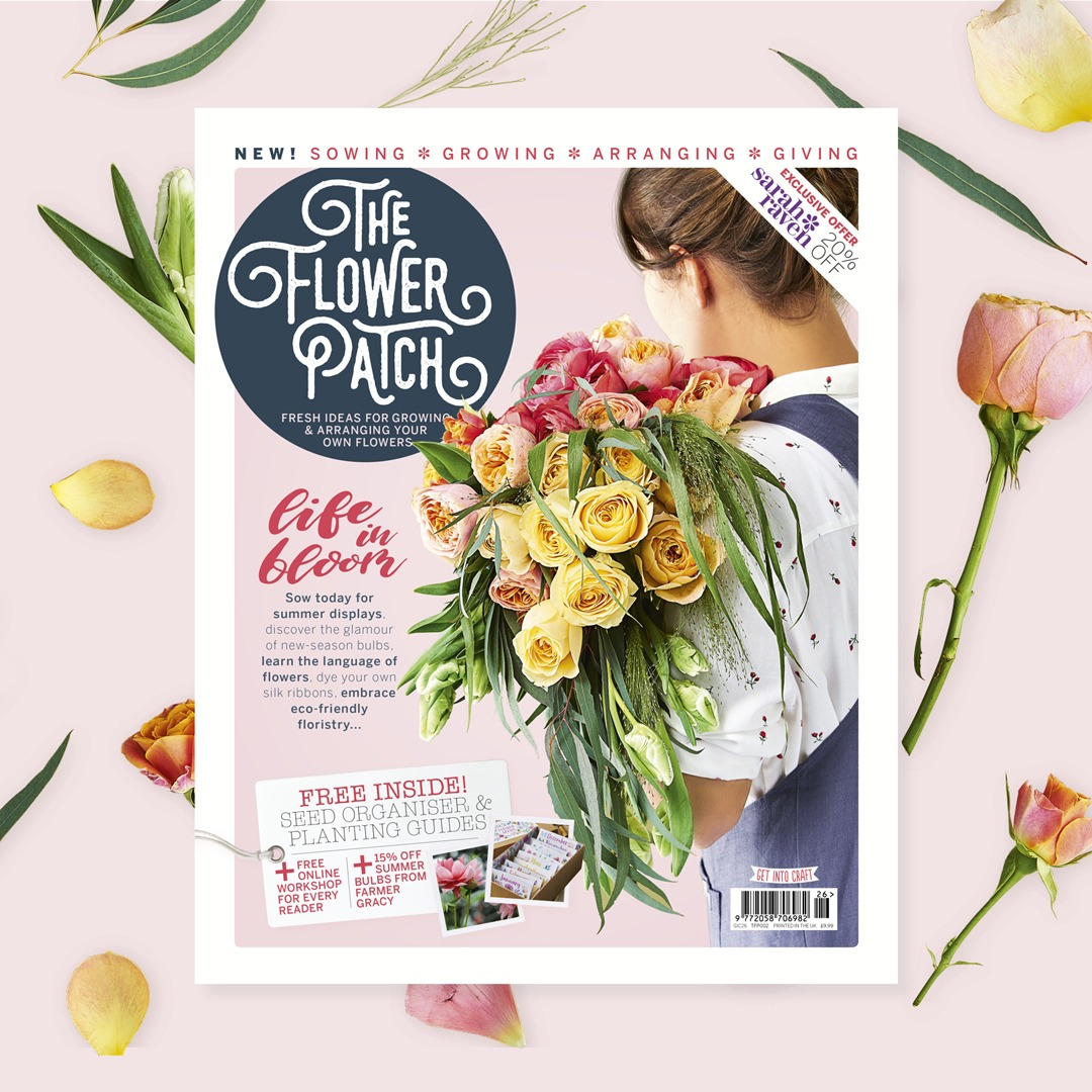 Find us in the new issue of The Flower Patch magazine