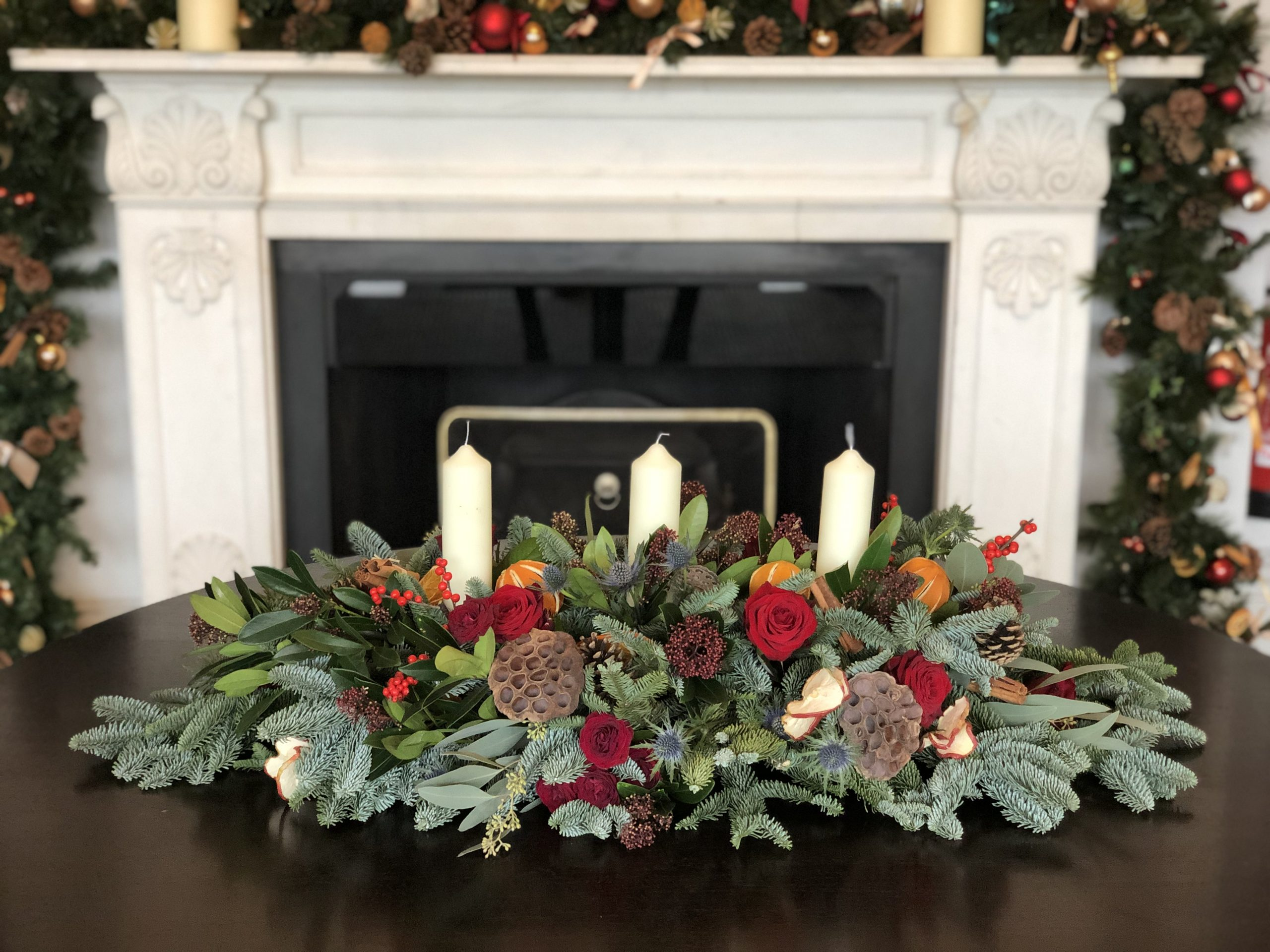 Christmas Collection 2019 & Xmas Wreaths - Flowers of Bath