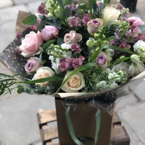 Dusky Opulence flower bouquet