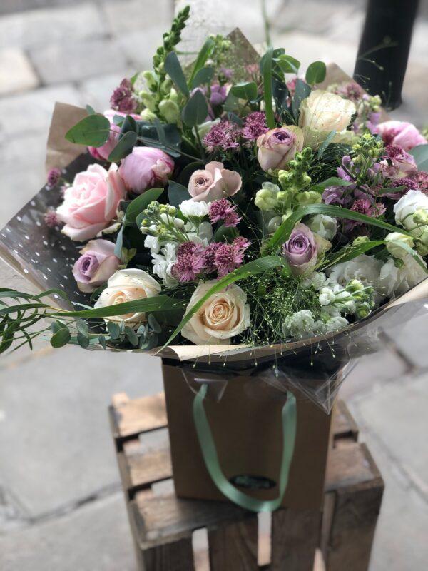 Dusky Opulence flower bouquet