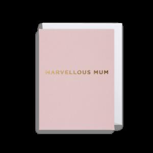 Marvellous Mum Card – Mini