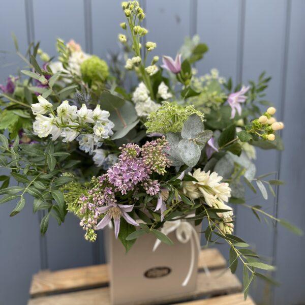 eco-friendly floral bouquet