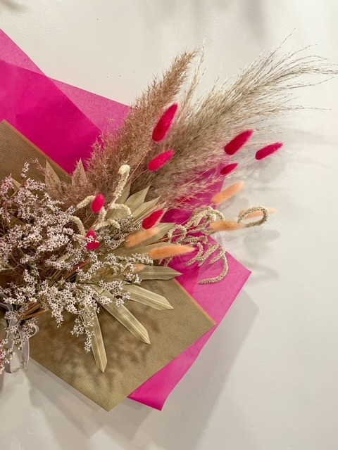 Dried Flowers in Bath