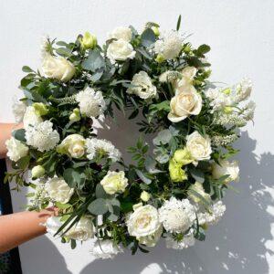 Fresh Ivory Wreath